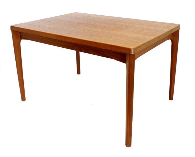 1960s Danish Teak Draw-Leaf Table * Henning Kjaernulf *