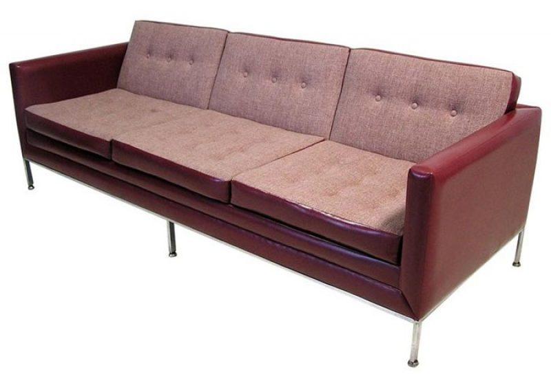 1960s Knoll Era 3-Seat Sofa