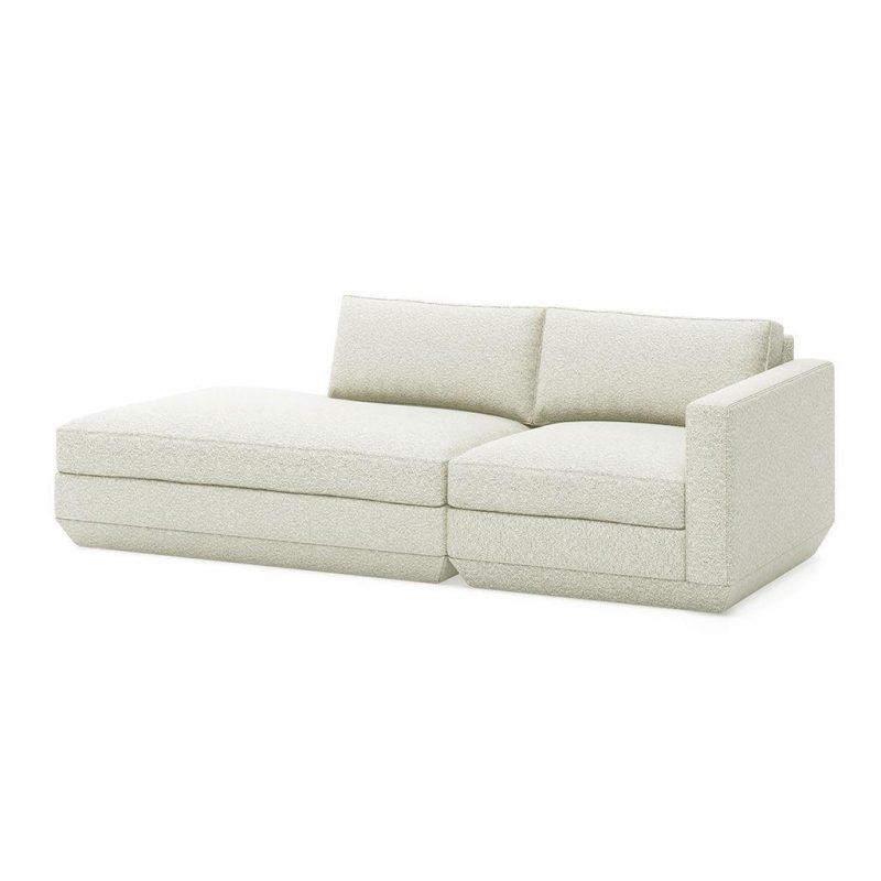 Podium 2 PC Modular Lounge Sofa by Gus* Modern