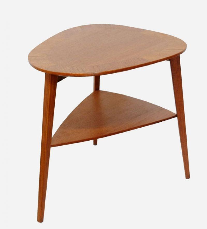 1960s Teak Biomorphic Side Table *Denmark*