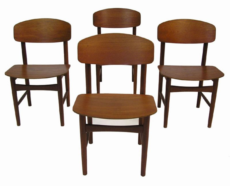 1950/60s Danish Teak Dining Chairs *Borge Mogensen*