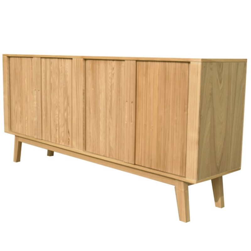 Danish Modern Designed Ash Surface Buffet/Sideboard