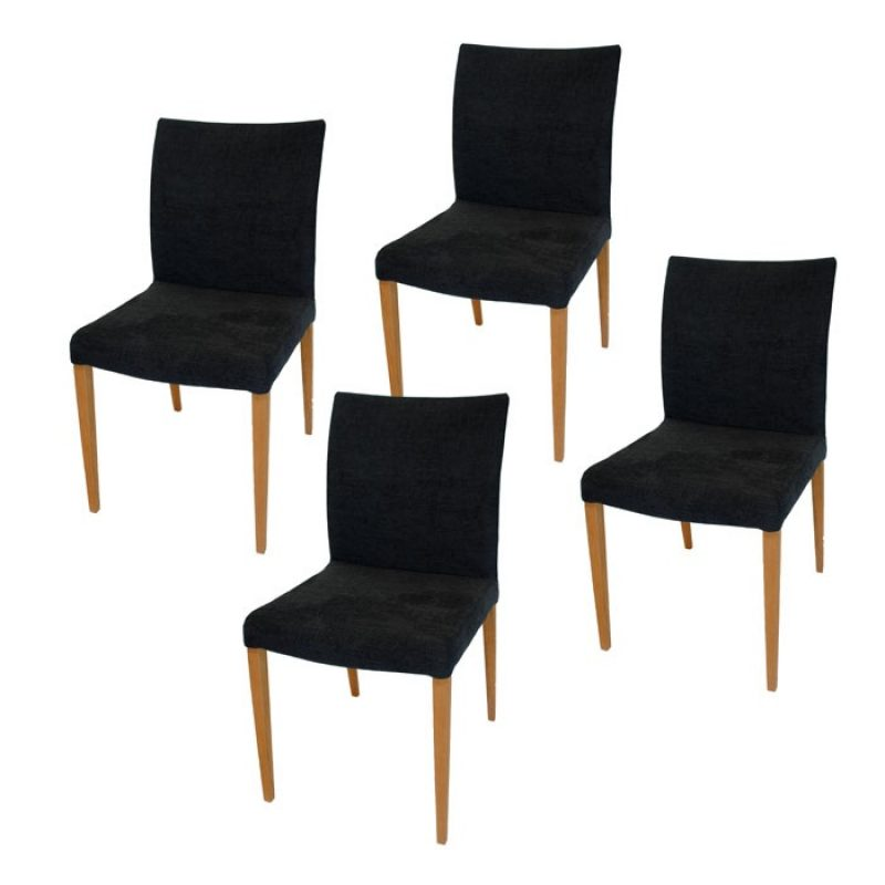 Dali Teak Dining Chairs by Mobican *Low-Back*