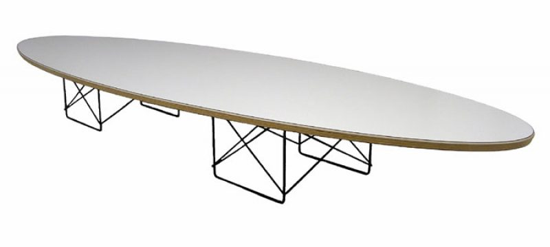Eames Elliptical Coffee Table *Herman Miller*