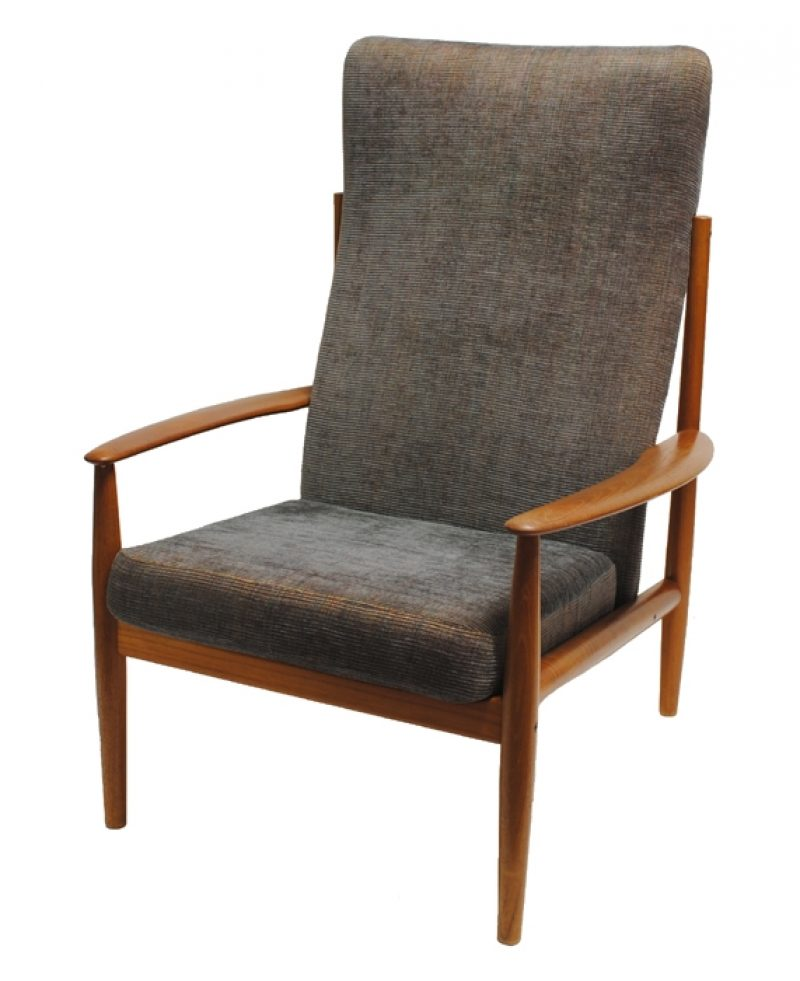 1960s Danish Teak Lounge Chair * Greta Jalk *
