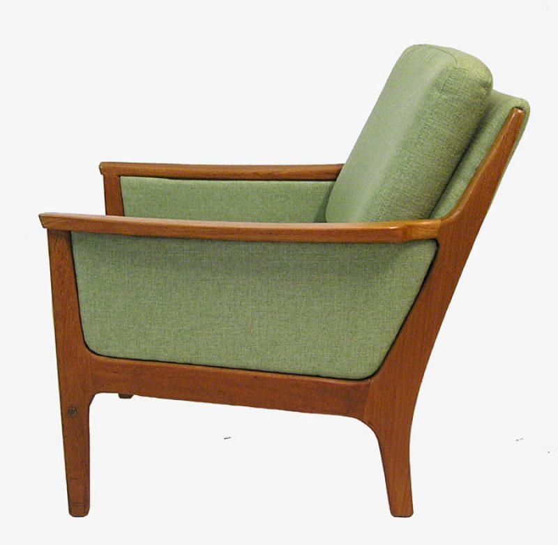 1960 70s Teak Easy Chair R Huber Hoopers Modern