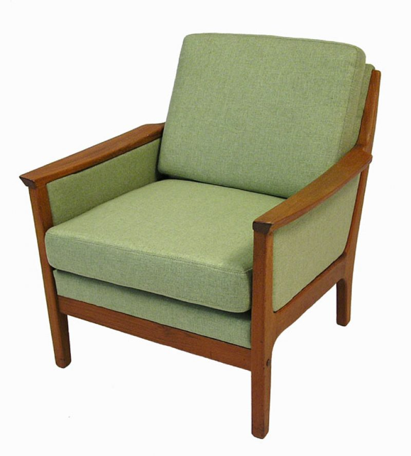 1960/70s Teak Easy Chair *R. Huber*