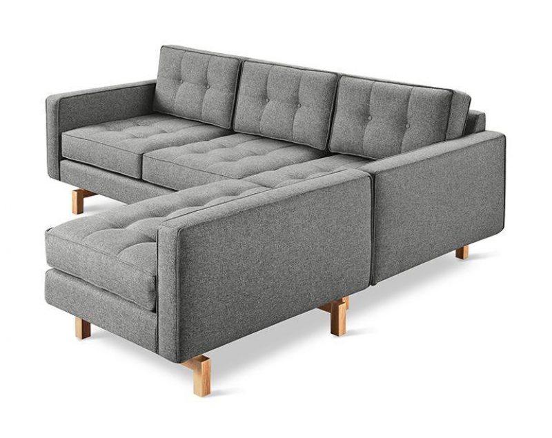 Jane 2 Loft Bi-Sectional Sofa by Gus* Modern