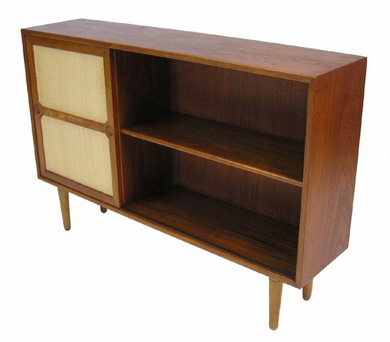 1950s Teak Bookshelf Cabinet Denmark