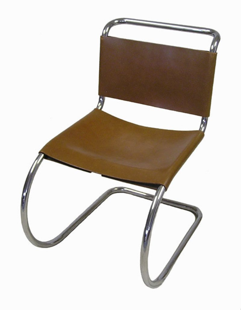 Mies van der rohe chair wassily chair of chromium plated for Chaise barcelona knoll prix