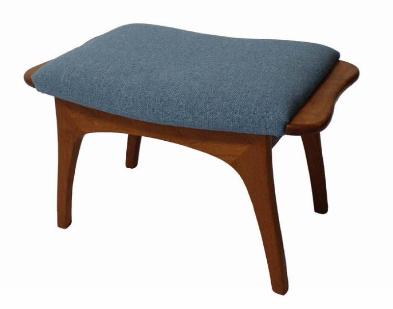 1960s Teak Footstool *Scandinavian Modern*