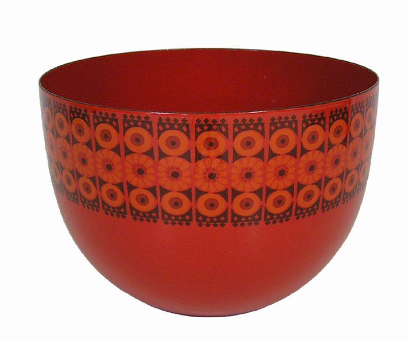 "1950s Finnish Enamel ""Arabia"" Bowl *Kaj Franck*"
