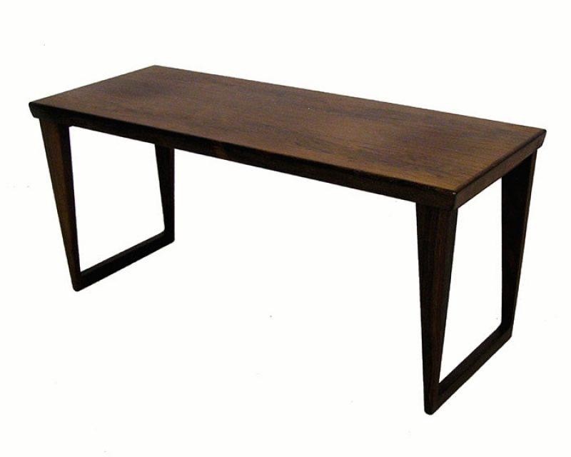 1960s Rosewood Bench by Kai Kristiansen