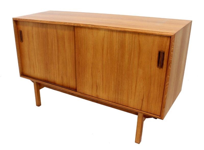 1960s Compact Teak Sideboard
