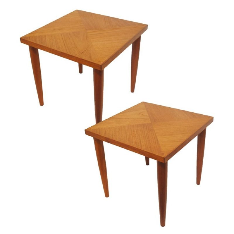 1950/60s Teak Side Tables * 2 Available *