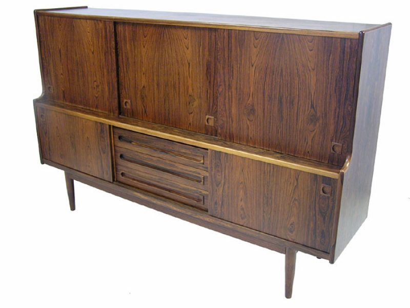 1960s Tall Rosewood Sideboard *Denmark*