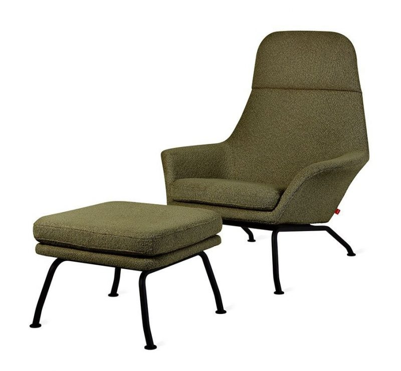 Tallinn Chair & Ottoman by Gus* Modern