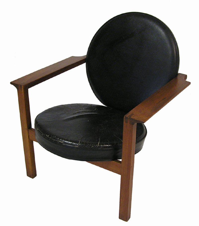 1960s Unique Teak Arm Chair * Bent Moller Jepsen *