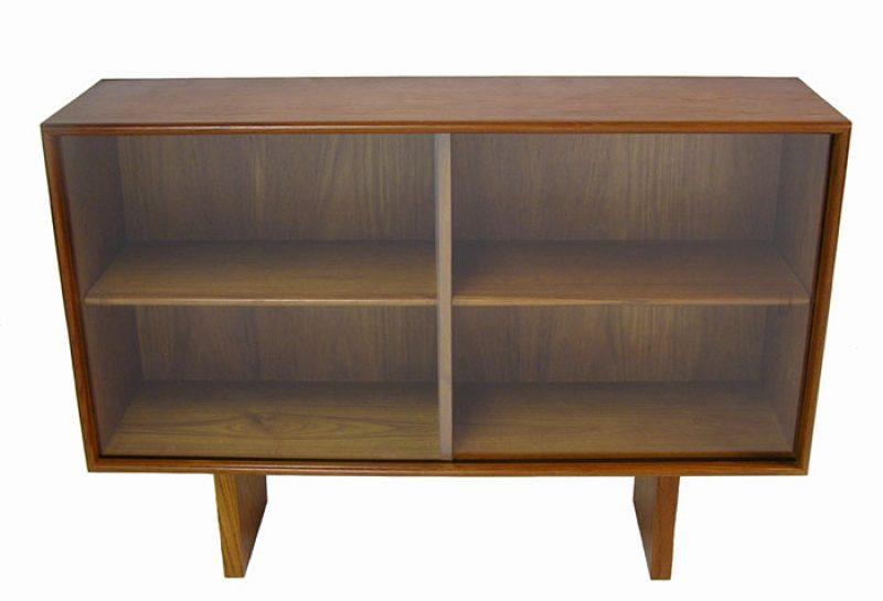 1960 70s Teak Bookshelf Hutch Hoopers Modern