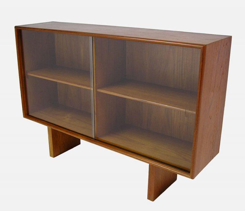1960 70s Teak Bookshelf Hutch