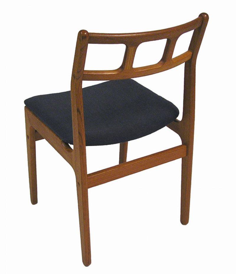 Vintage Teak Dining Chairs Set Of 4 Hoopers Modern