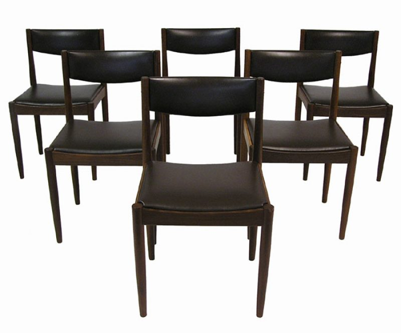 1960s Danish Teak Dining Chairs *Set of 6*