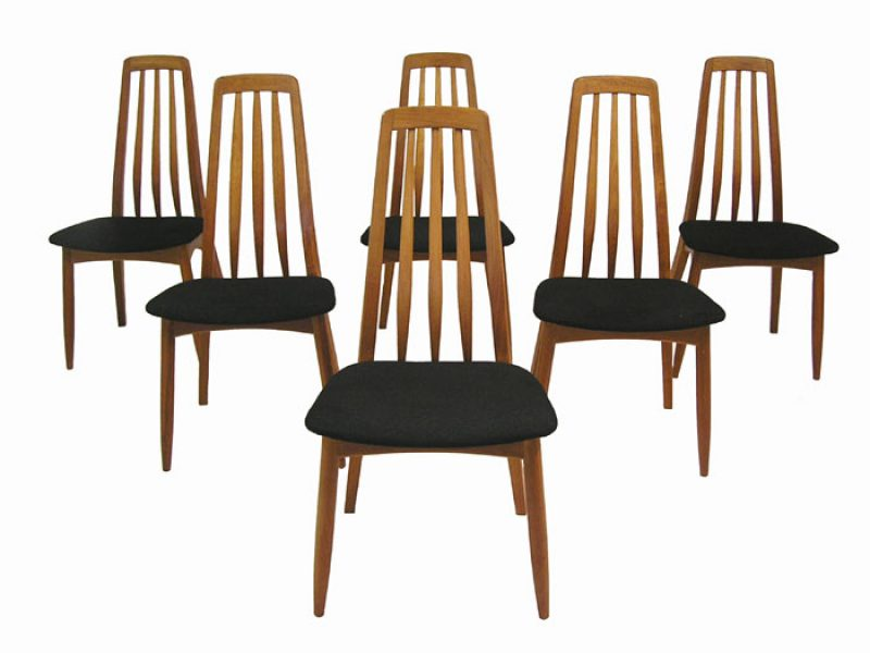 Highback Teak Dining Chairs *Set of 6*