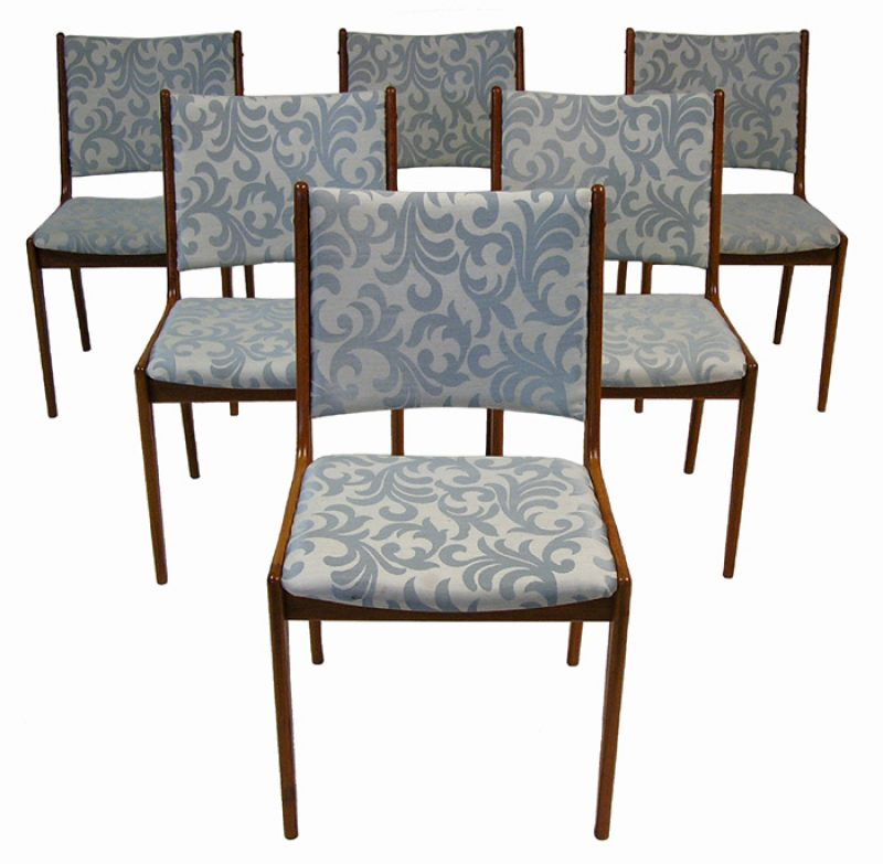 1960/70s Danish Teak Dining Chairs *Set of Six*