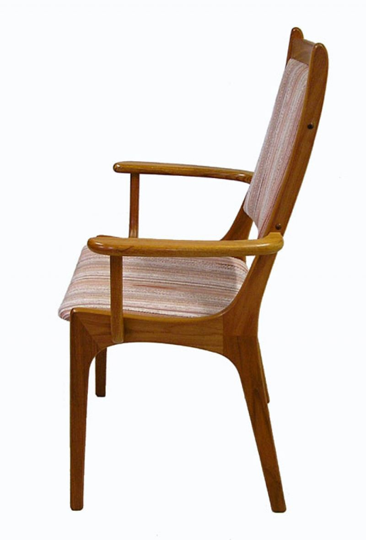 1960 70s Teak Dining Chairs Set Of 6 Hoopers Modern