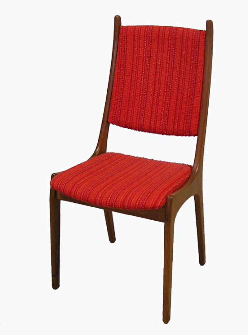 1960 70s Danish Teak Dining Chairs 2 Available Hoopers