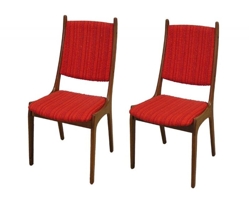 1960/70s Danish Teak Dining Chairs *2 Available*