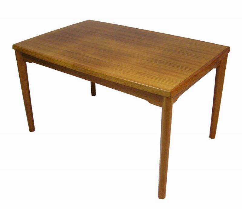 1960/70s Teak Draw-Leaf Dining Table *Denmark*