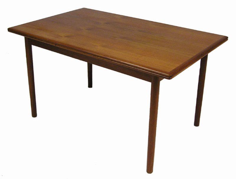 1960s Teak Draw-Leaf Dining Table *Denmark*