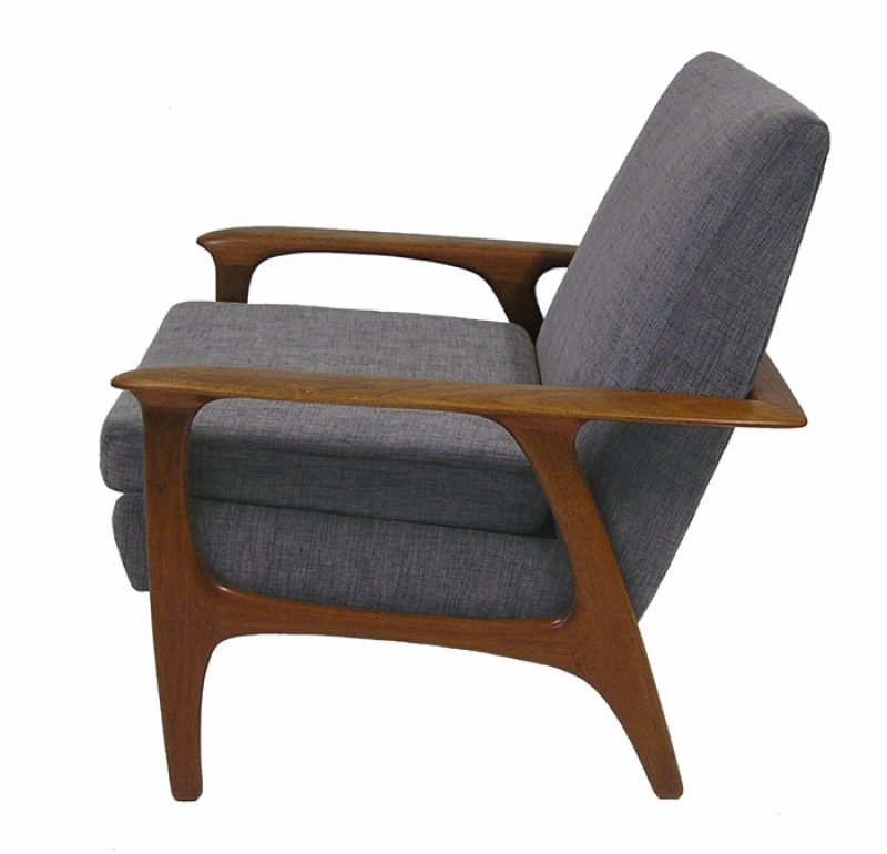 1960 70s Teak Easy Chair Hoopers Modern
