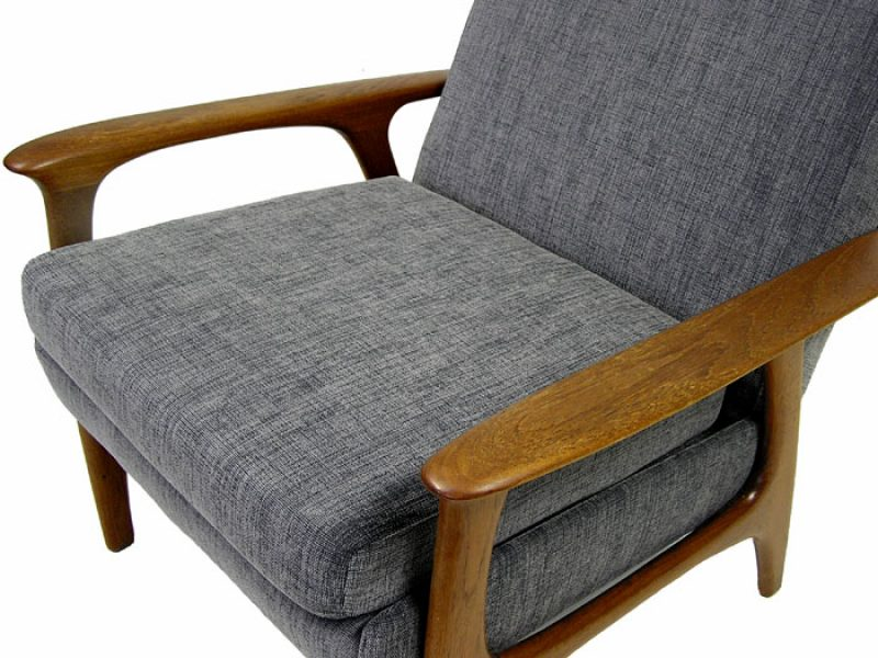 196070s Teak Easy Chair Hoopers Modern