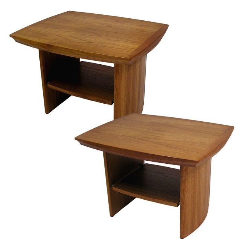 Vintage Teak End Table *2 Available*