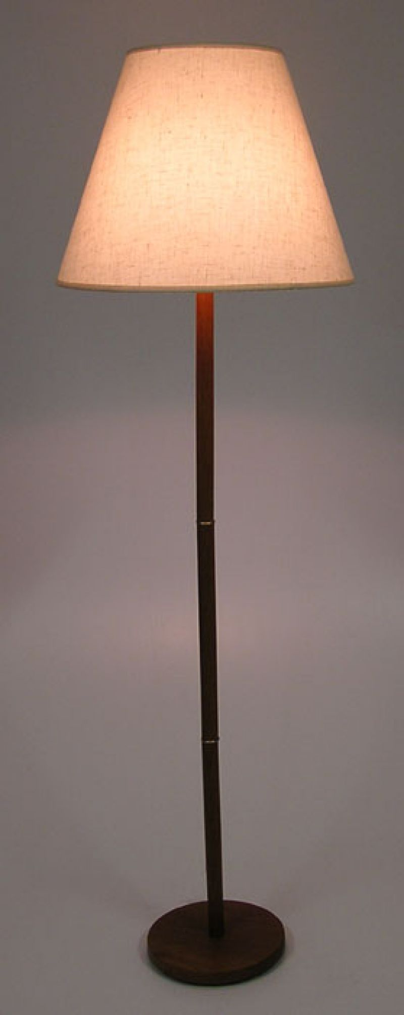 1970s Teak Floor Lamp Hoopers Modern