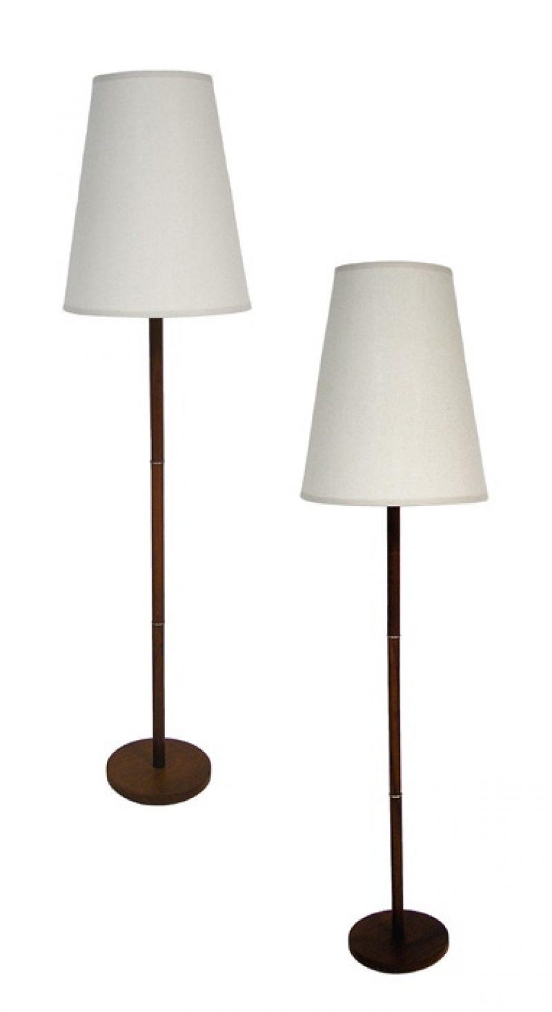 1970s Teak Floor Lamp *2 Available*