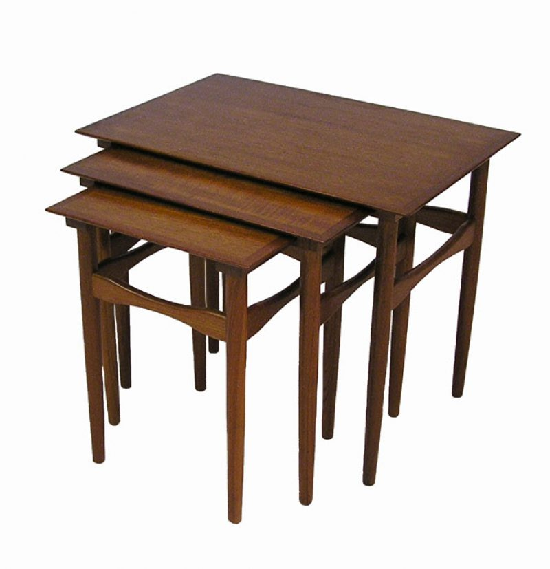 1960s Danish Teak Nesting Tables * Poul Hundevad *