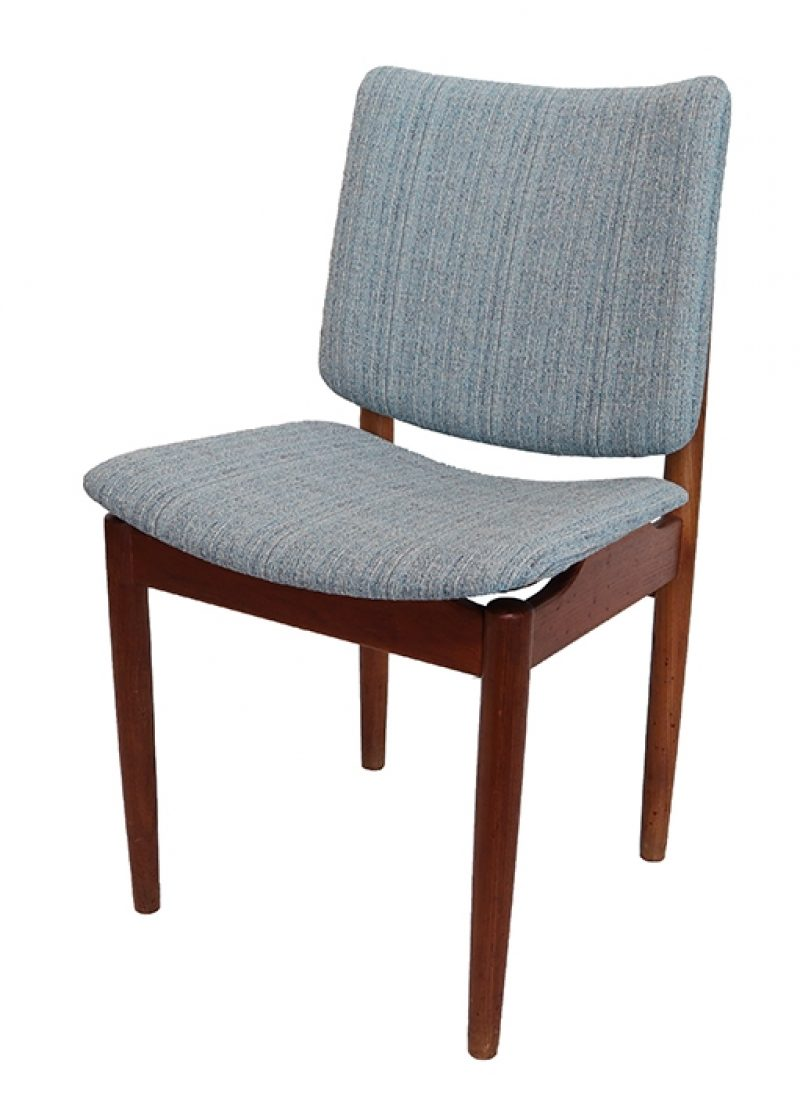 1960s Teak Occasional Side Chair * Denmark *