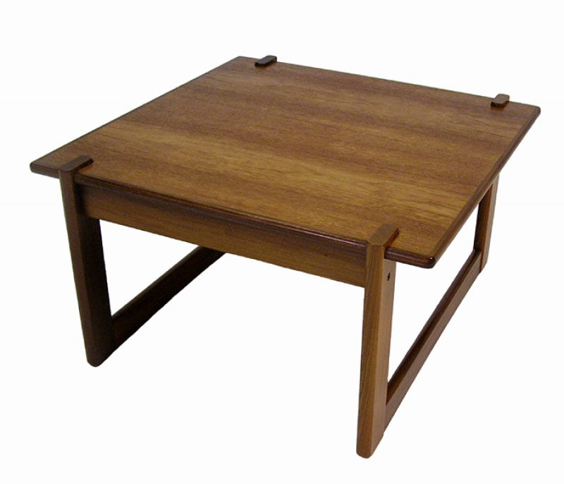 1960/70s Square Teak Side Table *RS Associates*