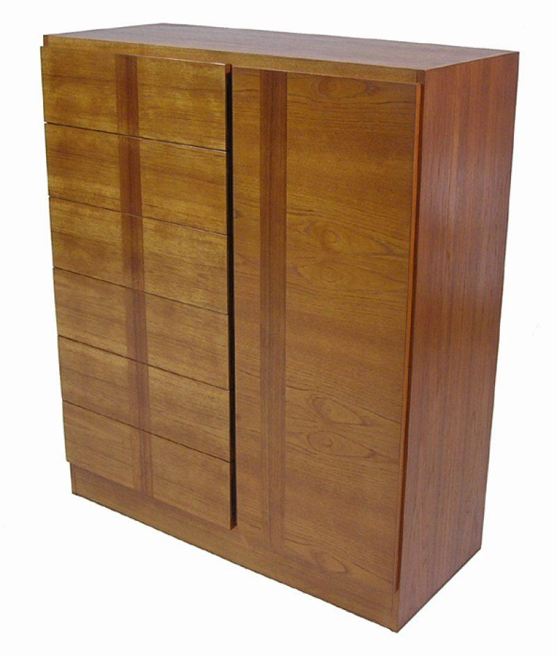 1970s Teak Wardrobe Cabinet *RS Associates*
