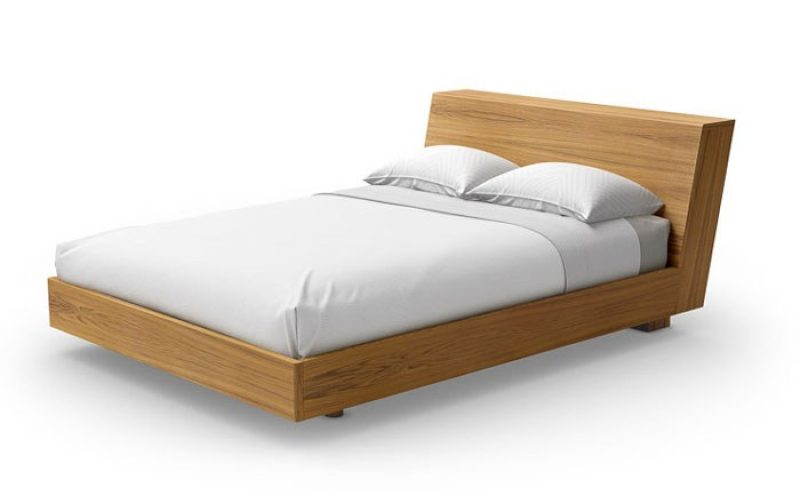 Urbana Bed by Mobican w/Headboard Storage