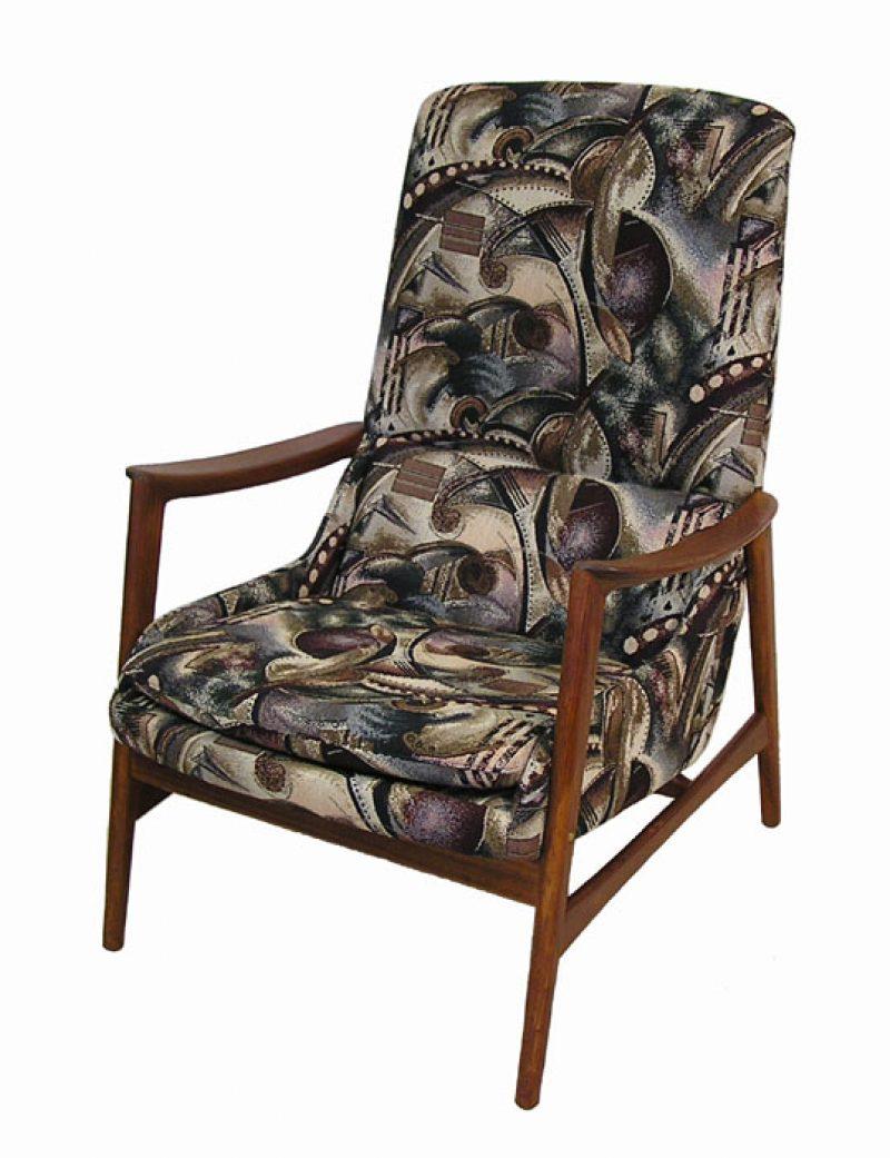 1960s Norwegian Teak Lounge Chair *Westnofa*