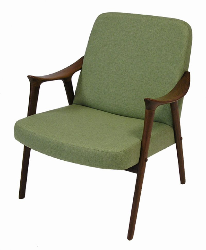 1960s Norwegian Teak Westnofa Lounge Chair