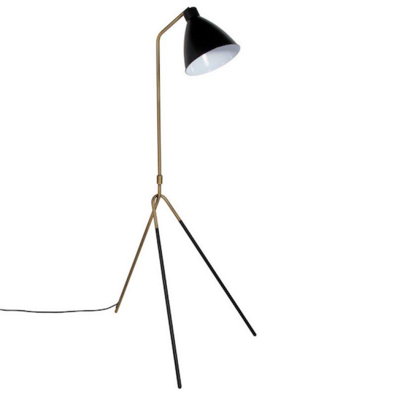 Tripod Leg Metal Floor Lamp