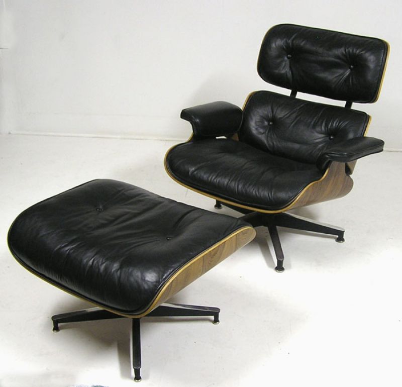 original eames lounge chair 670 ottoman 671 hoopers modern. Black Bedroom Furniture Sets. Home Design Ideas