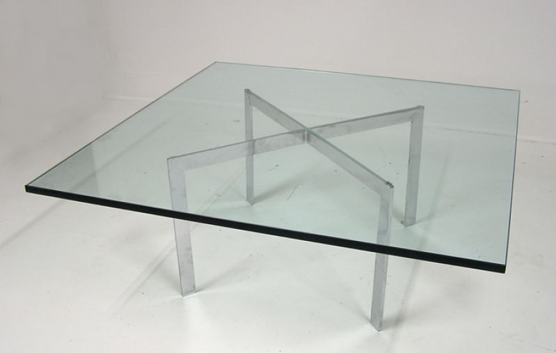 Mies Van Der Rohe Barcelona Table Knoll Hoopers Modern