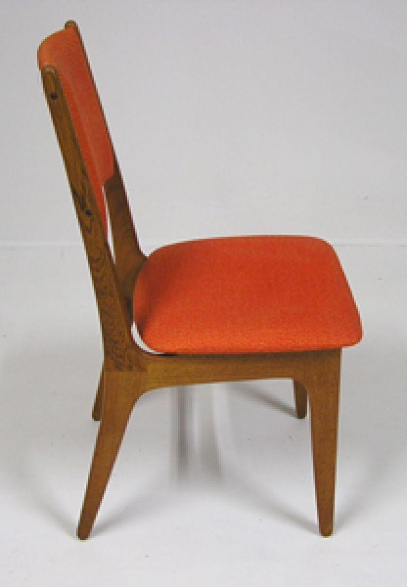 Teak High Back Dining Chairs Hoopers Modern