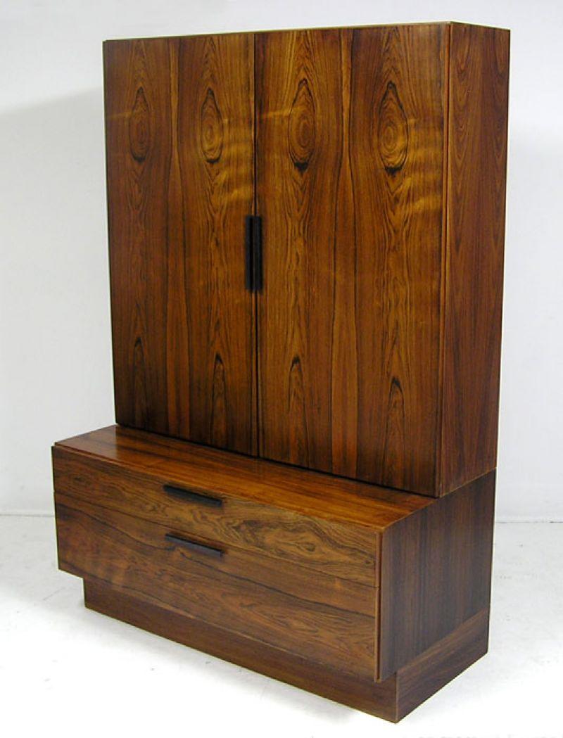 1960s Rosewood Storage Cabinet *Ib Kofod Larsen*